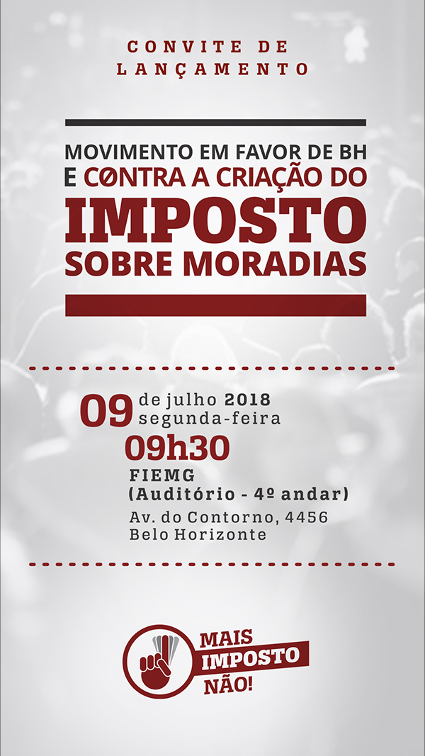 Convite-MaisImpostoNaoBH.com.br