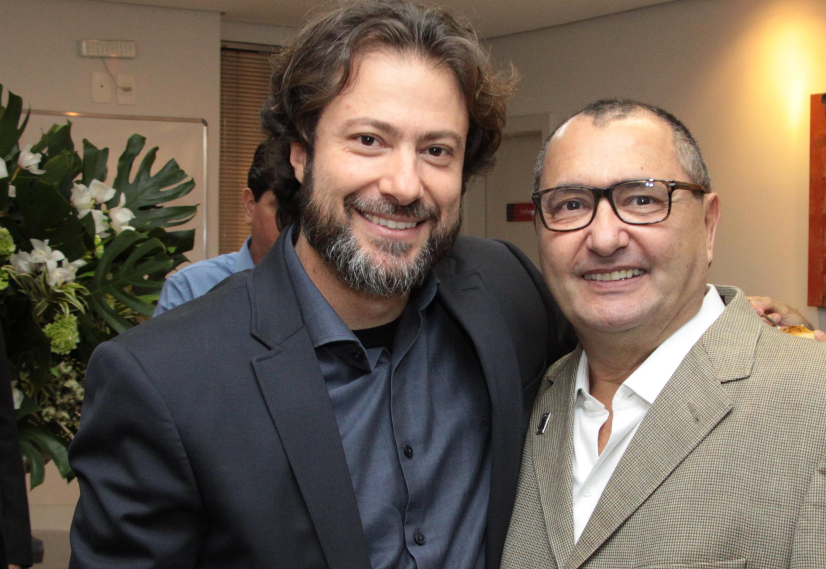 Andre Campos e Alaor Silva Junior